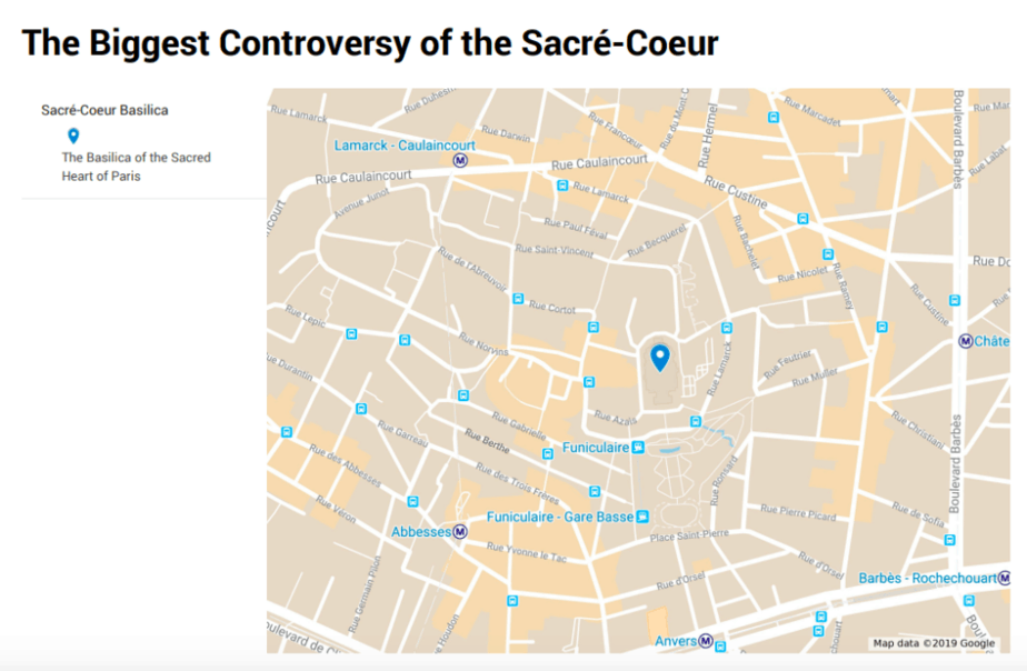 The Biggest Controversy of the Sacré-Coeur