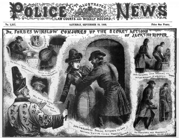 The Illustrated History of the Whitechapel Murders Jack the Ripper