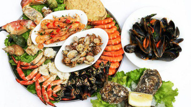 seafood in Lisbon