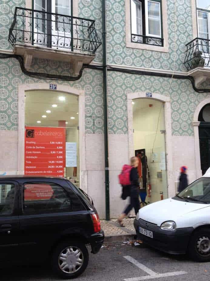 haircut in Lisbon