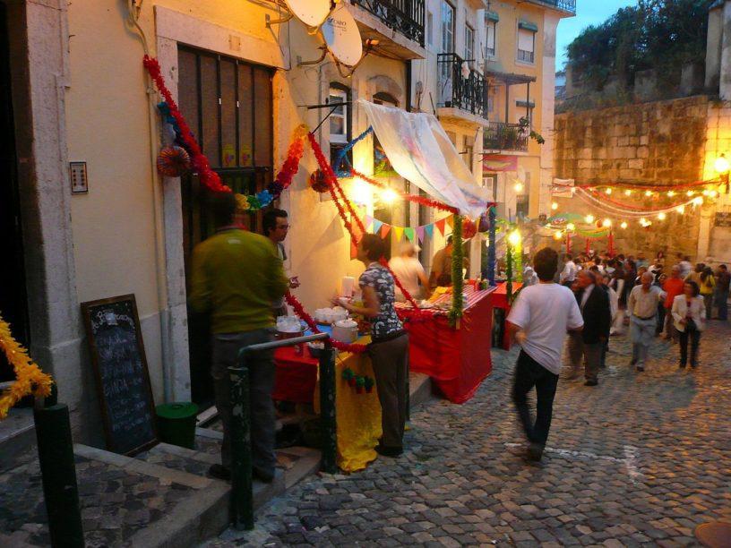 Fair in Lisbon