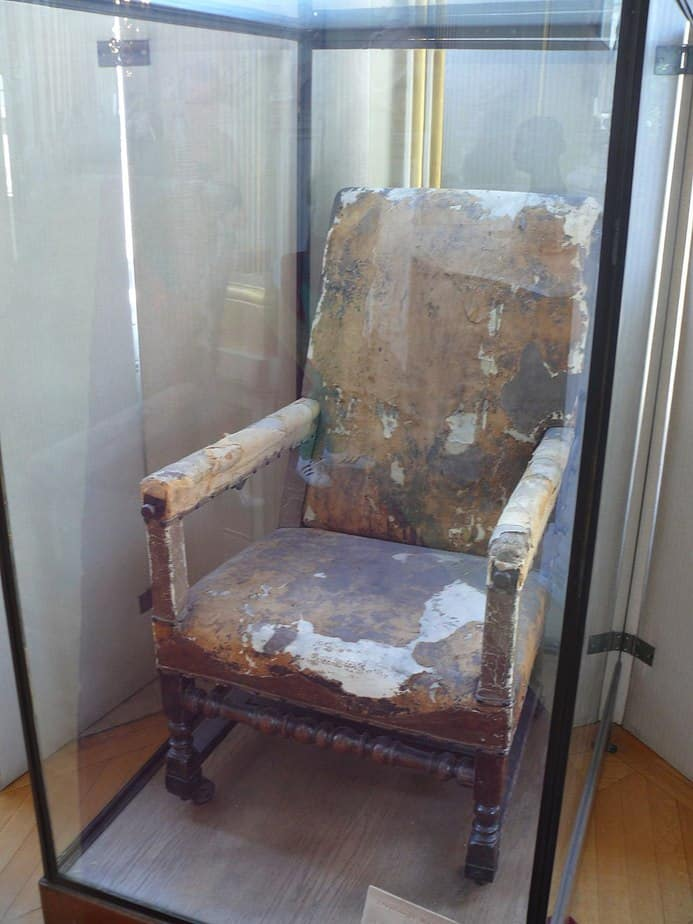 Moliere's Chair at Comedie Francaise