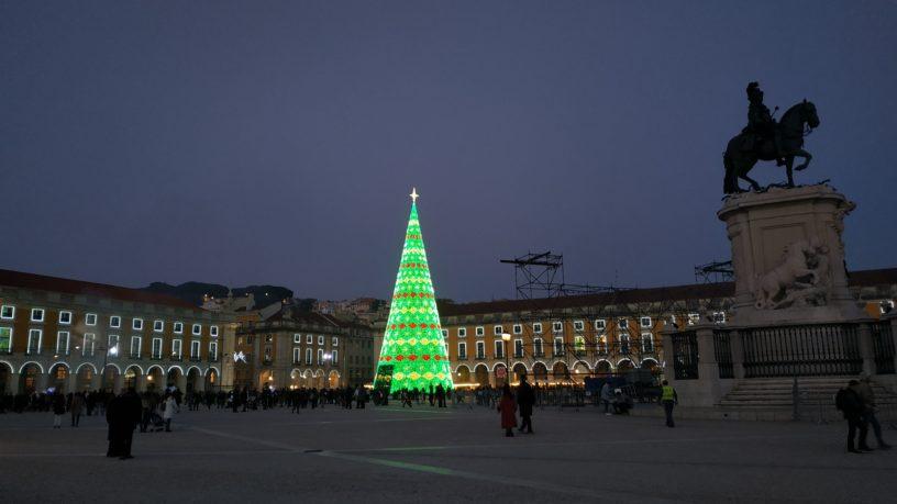 Terreiro do Paço during Christmas