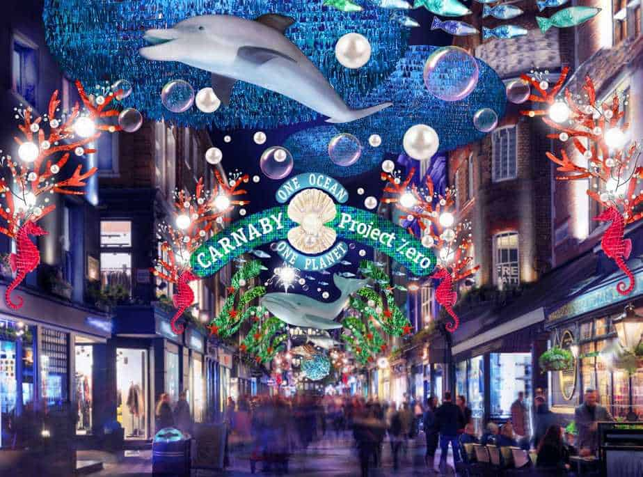 Where to see the best Christmas lights in London ...