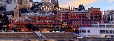 Ghirardelli Square as seen from the bay