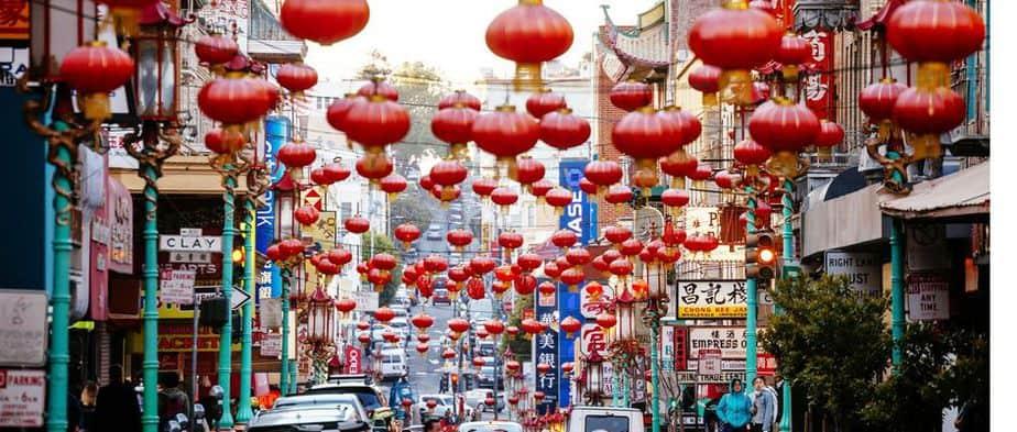 Grant Avenue - Chinatown San Francisco