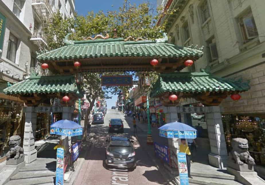 Dragon's Gate Entrance to Chinatown