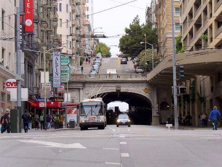 27Stockton Street tunnel with Stockton Street on top