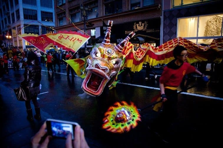 Chinese New Year's Parade