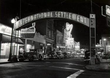 International Settlement in the 1950's