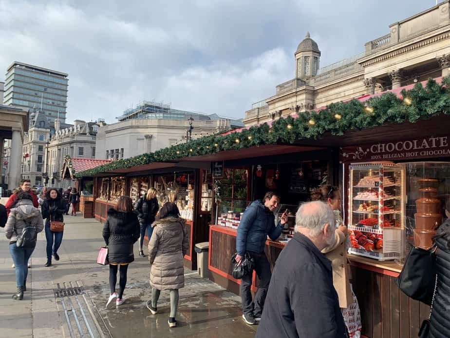Trafalgar Square Christmas Market - Image sourced from their website