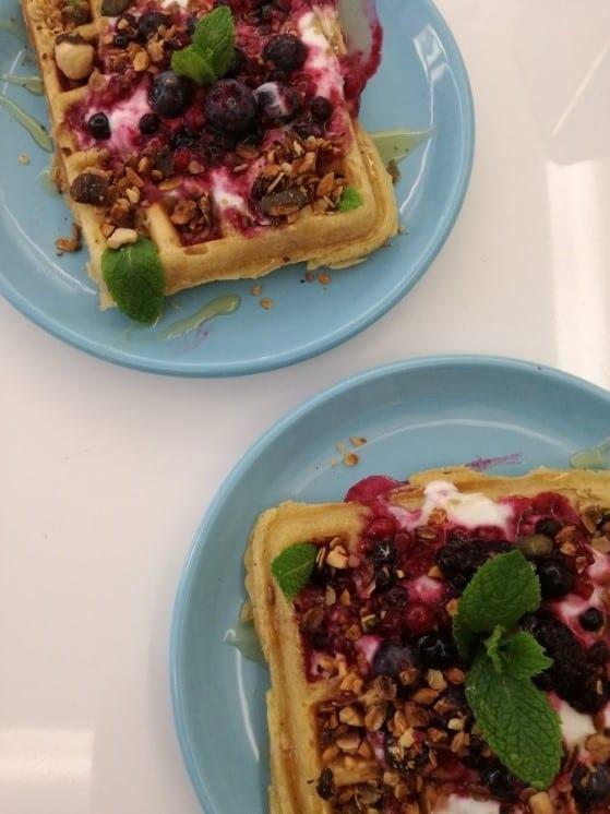 Leitaria Lisboa - Waffle