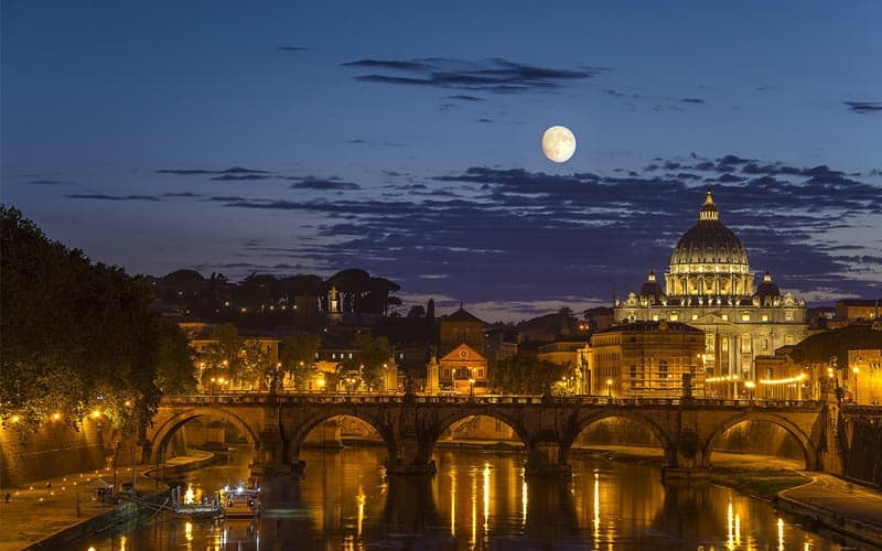 Places To See The Best Views Of Rome At Night Discover