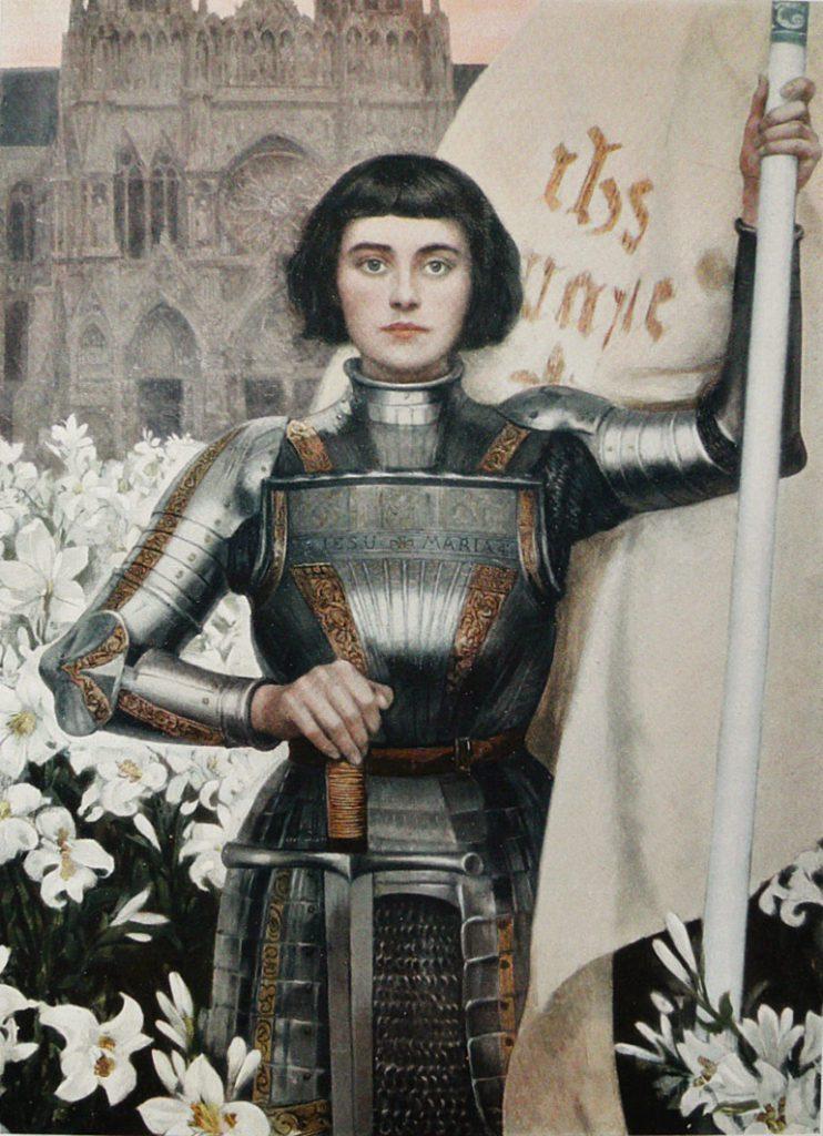 Engraving of Joan of Arc