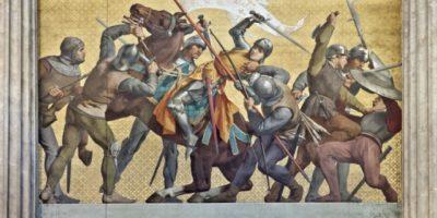Joan of Arc captured
