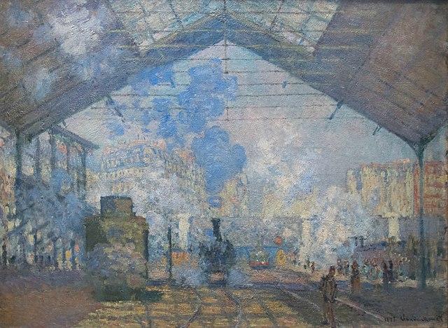 Gare Saint Lazare Monet