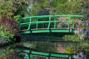 Giverny Monet House Japanese bridge