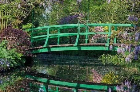 Giverny Monet House Japanese bridge