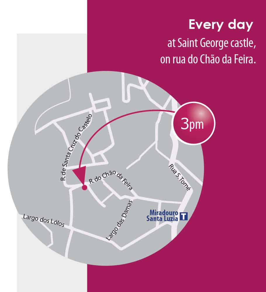 Map for Alfama Tour