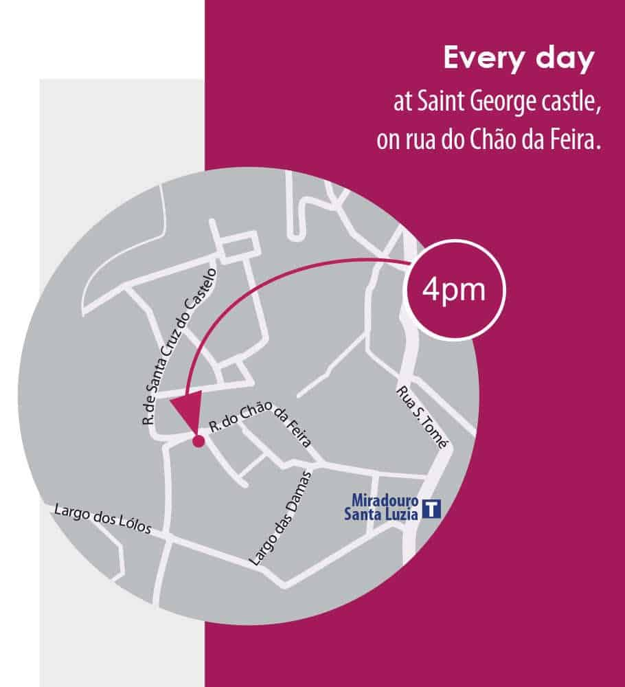 Join us for a tour of Alfama at 4pm in Lisbon
