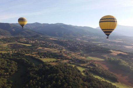 Hot-Air Balloon- Barcelona