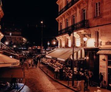 Latin quarter by night