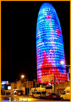 Agbar Tower Things To Do In Barcelona
