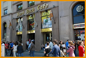 Hard Rock Cafe Lisbon Metro